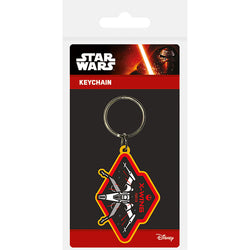 Star Wars Episode VII (X Wing) Rubber Keychain