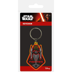 Star Wars Episode VII (Tie Fighter) Rubber Keychain