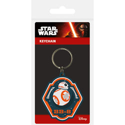 Star Wars Episode VII (BB-8) Rubber Keychain