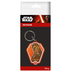Star Wars Episode VII (Chewie) Rubber Keychain