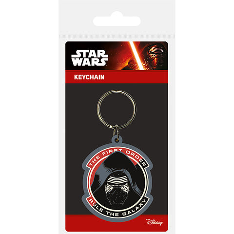 Star Wars Episode VII (Kylo Ren) Rubber Keychain