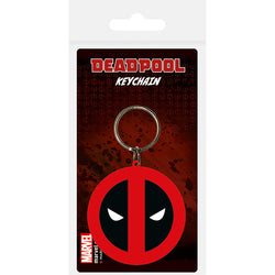 Deadpool (Symbol) Rubber Keychain