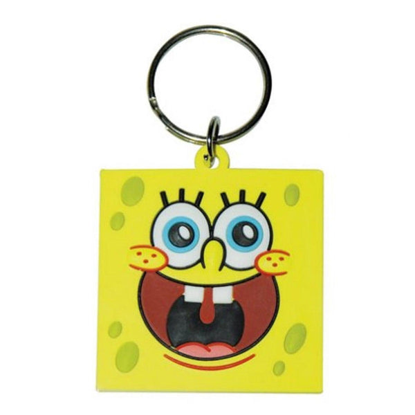 Spongebob (Teeth) Rubber Keychain