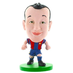 Barca Toon Iniesta Home Kit Figure