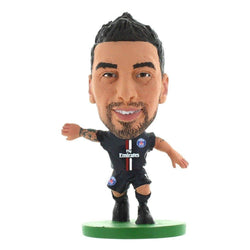 Paris St Germain Ezequiel Lavezzi Home Kit/ Figures