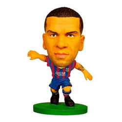 Soccerstarz - Barcelona Dani Alves Home Kit 2015 Figure