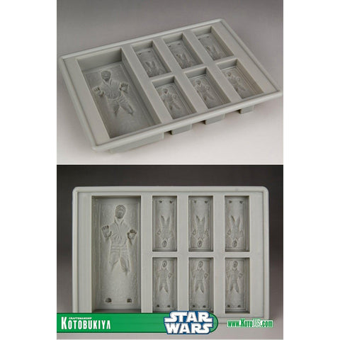 Star Wars Han Solo In Carbonite Silicon Ice Tray / Chocolate Mold