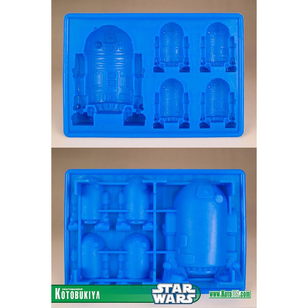 Star Wars R2-D2 Silicone Ice Tray / Chocolate Mold