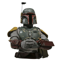 Star Wars Jedi Boba Fett Bust Bank
