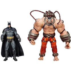 Batman Arkham Asylum Batman Vs Bane Action Figure (2 Figure Pack)