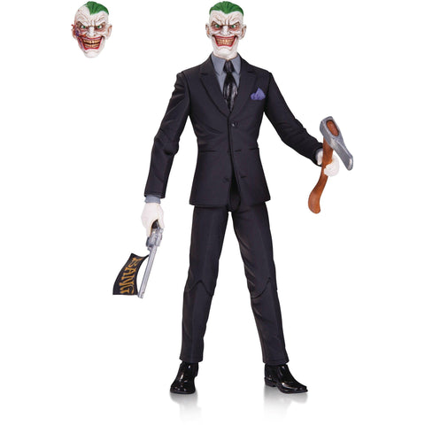 Dc Comics Designer Ser Capullo Joker Action Figure