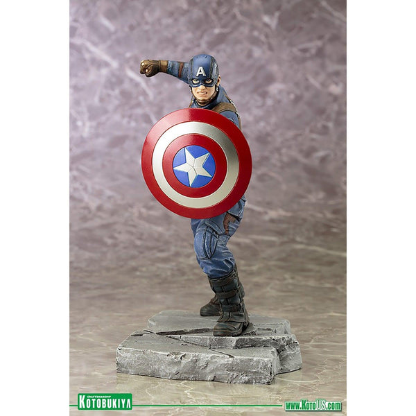 Captain America : Civil War Movie Captain America ArtFx + Statue