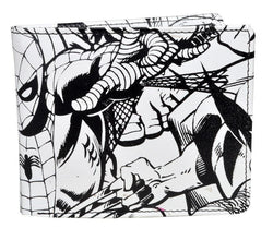 Spiderman Black & White Bi-Fold Wallet