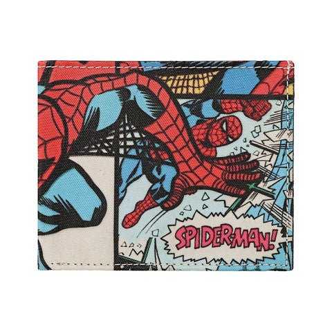 Spiderman Collage Bi-Fold Wallet