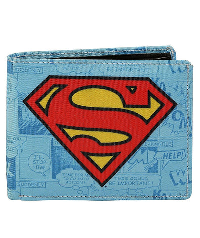 Superman Logo Bi-Fold Wallet
