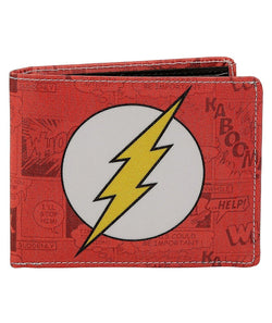 Flash Logo Bi-Fold Wallet