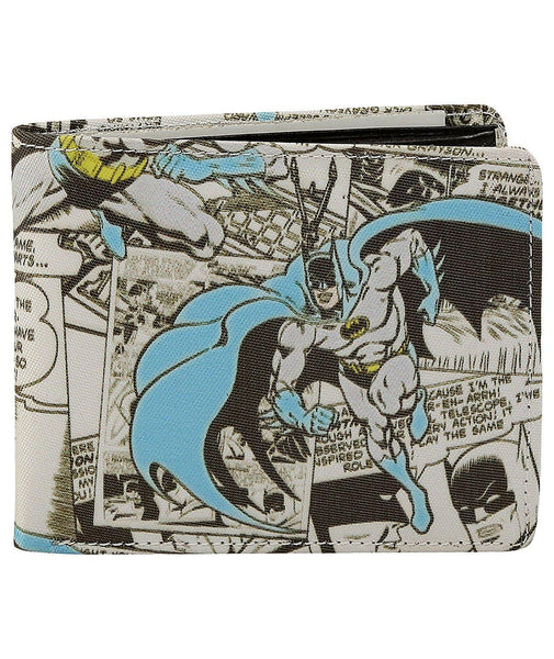 Batman Collage Bi-Fold Wallet