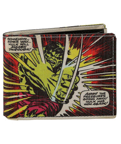 Marvel Comics Hulk Bi- Fold Wallet