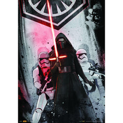 Official Star Wars Kylo Ren & Stormtrooper A3 Poster