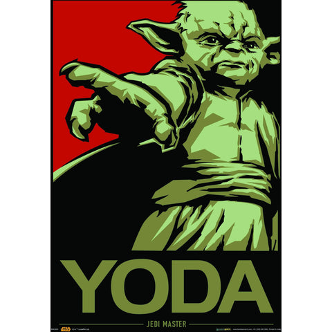 Official Star Wars Yoda A3 Poster