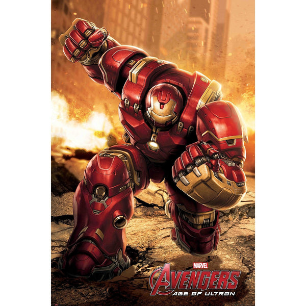 Official The Avengers - Age Of Ultron (Hulk Buster) A3 Poster
