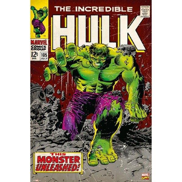Official Marvel Comics - The Incredible Hulk A3 Poster