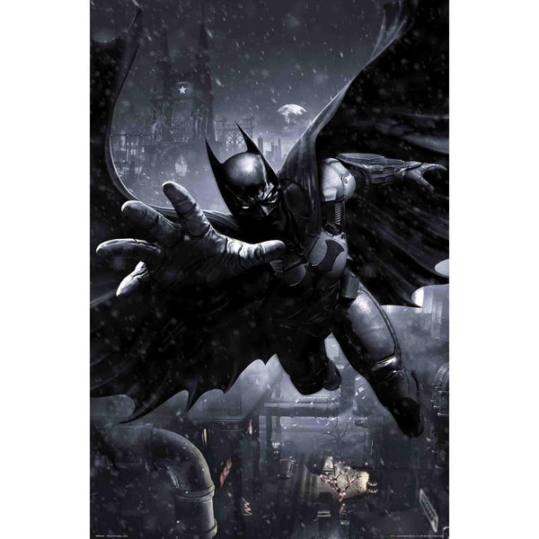 Batman Arkham Origins Batman Swing Maxi Poster