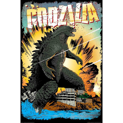 Godzilla Destruction Maxi Poster
