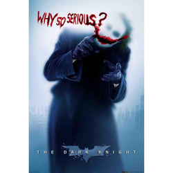 The Dark Knight Rises Joker Why So Serious Maxi Poster