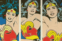 Wonder Woman Triptych Maxi Poster