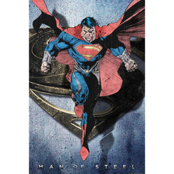 Superman Man Of Steel Maxi Poster