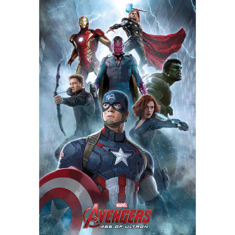 The Avengers : Cast - Collage Maxi Poster