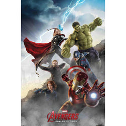 The Avengers : Cast - Collage 2 Maxi Poster