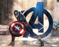 The Avengers - Captain America Mini Poster