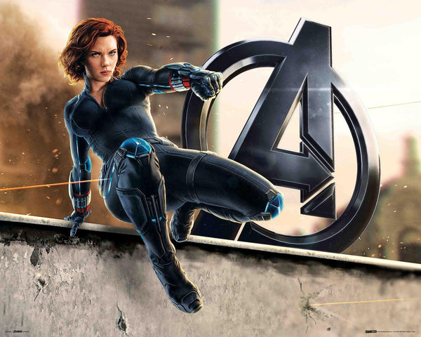 The Avengers - Black Widow Mini Poster
