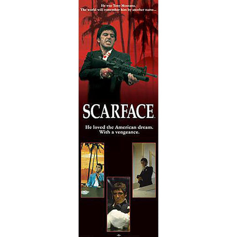 Scarface (American Dream) Door Poster
