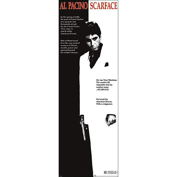 Scarface (One Sheet) Door Poster