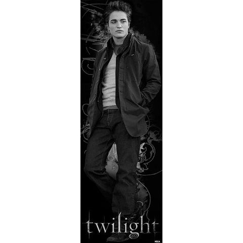 Twilight (Edward B&W) Door Poster