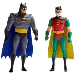 BTAS Batman & Robin 5.5 Bendables (Blister Carded)