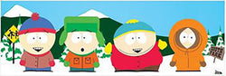 South Park (Bus Stop) Slim Poster