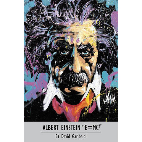 Albert Einstein (By David Garibaldi) Maxi Poster
