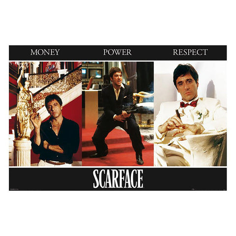 Scarface (Triptych) Maxi Poster