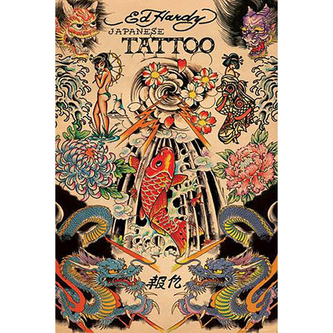 newest collection 36291 d6cca Ed Hardy (Japanese) Maxi Poster