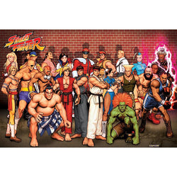 Street Fighter (Characters) Maxi Poster