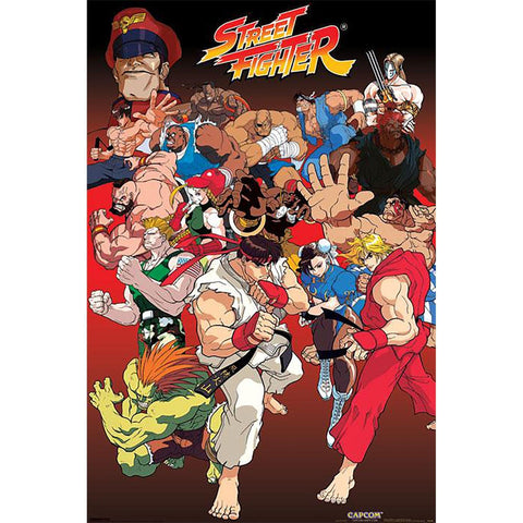 Street Fighter (Anime) Maxi Poster