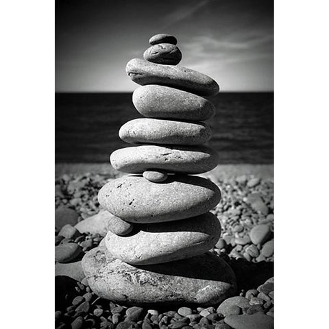 Pebble Stack Maxi Poster