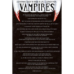 Everything I Know (Vampires) Maxi Poster