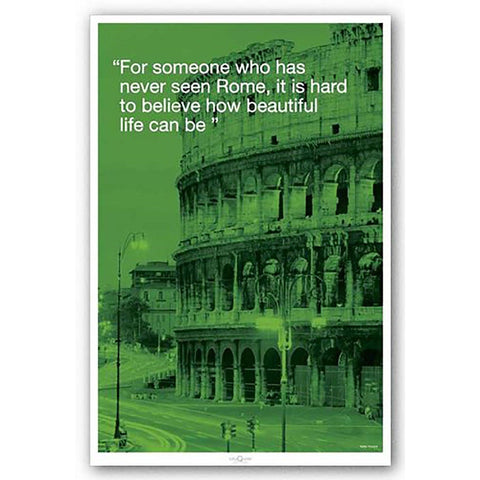 Rome (City Quote) Maxi Poster
