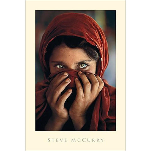 Afghan Girl (Steve Mc.Curry) Maxi Poster