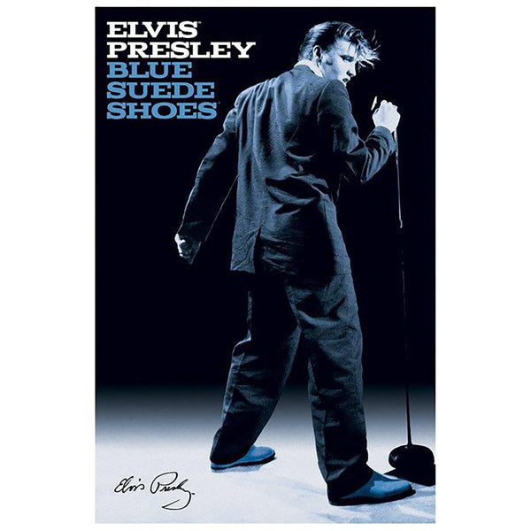 Elvis Presley (Blue Suede Shoes) Maxi Poster